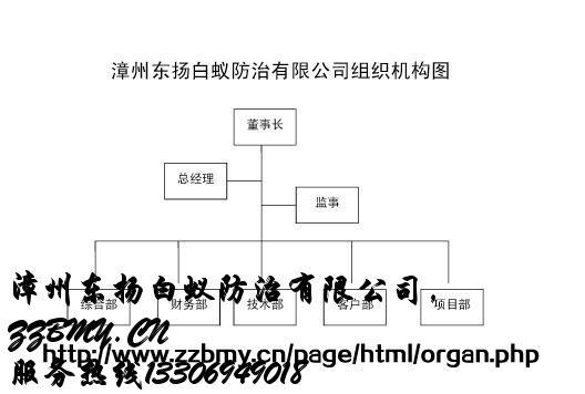 商场组织结构图